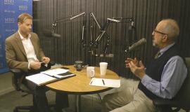 Jeff Deist and Joe Salerno in studio.