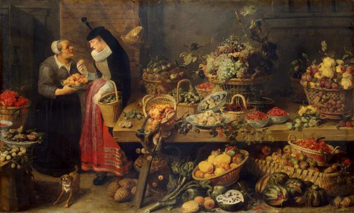 Frans Snyders (1579–1657), Fruit Stall (1618–1621)