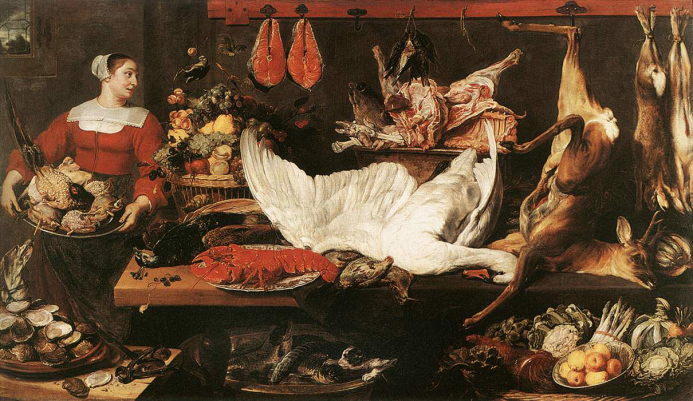 Frans Snyders (1579–1657), The Pantry (c. 1620)