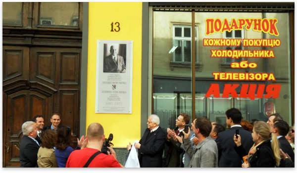 Mises celebration in Lviv, Ukraine