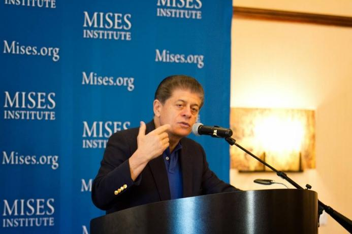 Judge Napolitano at Costa Mesa Mises Circle 2014