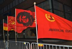 communist flags