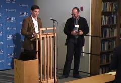 Rafael Acevedo and Luis Cirocco at Mises University 2017