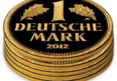 Gold Deutsche Mark Stack
