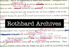 Rothbard Archives