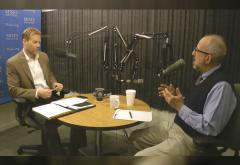 Jeff Deist and Joe Salerno in studio.