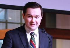 Edward Stringham at the 2016 Boston Mises Circle