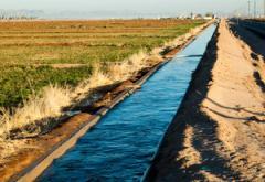 canal through the desert