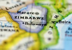 Map showing Zimbabwe