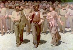 """""""Il Quarto Stato"""" by Giuseppe Pellizza da Volpedo, 1901"""