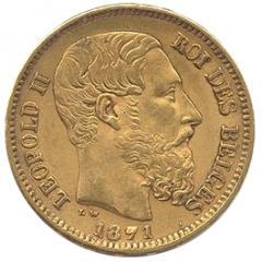 Belgian 20 franc
