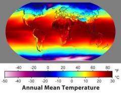 Annual Average Temperature Map