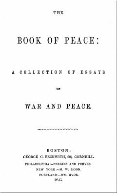 Book of Peace by George Beckwith