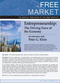 Free Market March Klein 2014