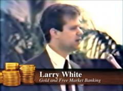Lawrence H. White speaking at the Mises Institute's Capitol Hill Gold Standard Conference, November 1983