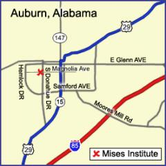 Mises Institute Map