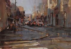 """Morning Traffic"" by Tibor Nagy"