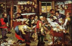 Brueghel (1640) The Tax Collector's Office
