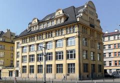 Polish National Bank Building in Wroclaw