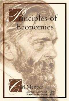 Principles of Economics by Carl Menger