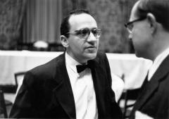 Murray Rothbard 1956 with George Koether