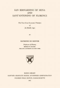 San Bernardino of Siena and SantAntonino of Florence