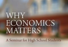 Why Economics Matters Seminar