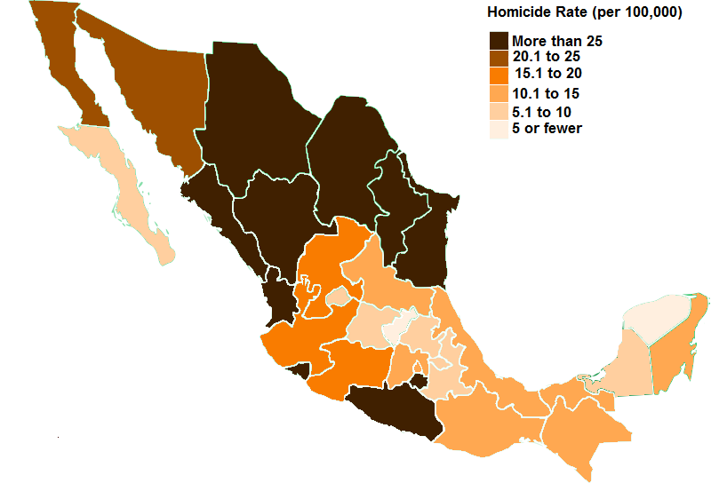 Borderland Homicides Show Mexico\'s Gun Control Has Failed | Mises Wire