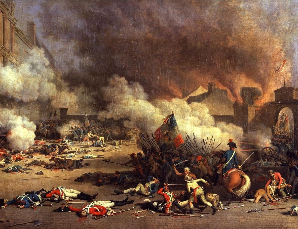 immediate causes of the french revolution