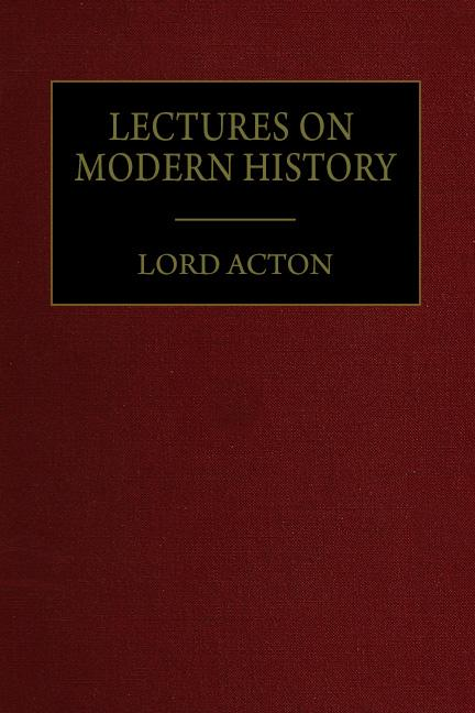 Lectures On Modern History Mises Institute